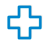 First aid or cross icon