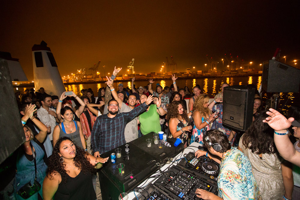 Photo by Rory Alcantar from IYD Tropical Boat Party - L.A.
