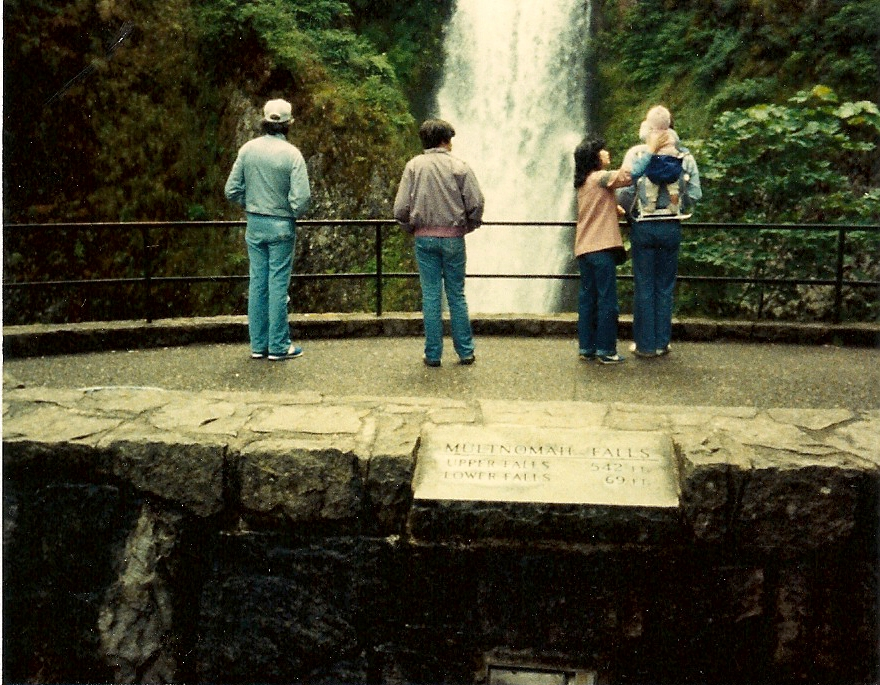 Almost to Portland . . . Multnomah Falls