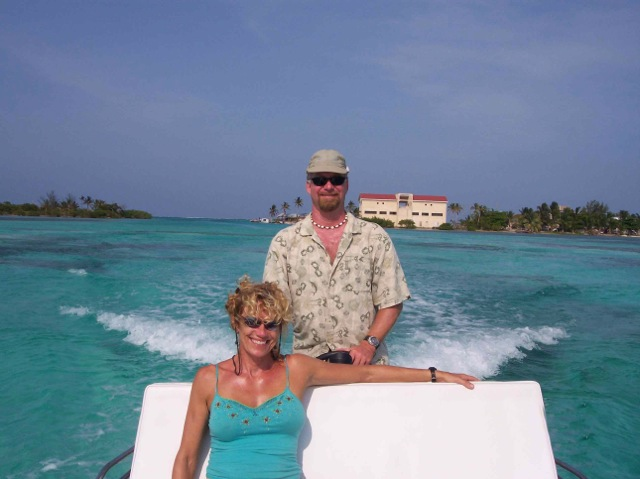 sonia-and-duke-coming-back-from-caye-caulker large