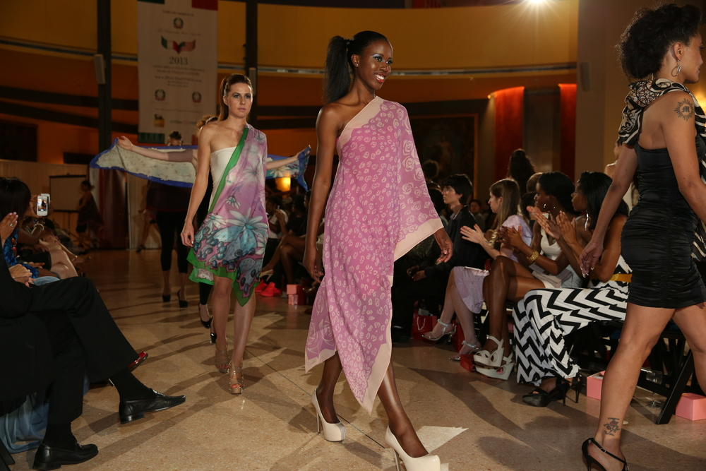 Fashion show at Italian Embassy Washington DC