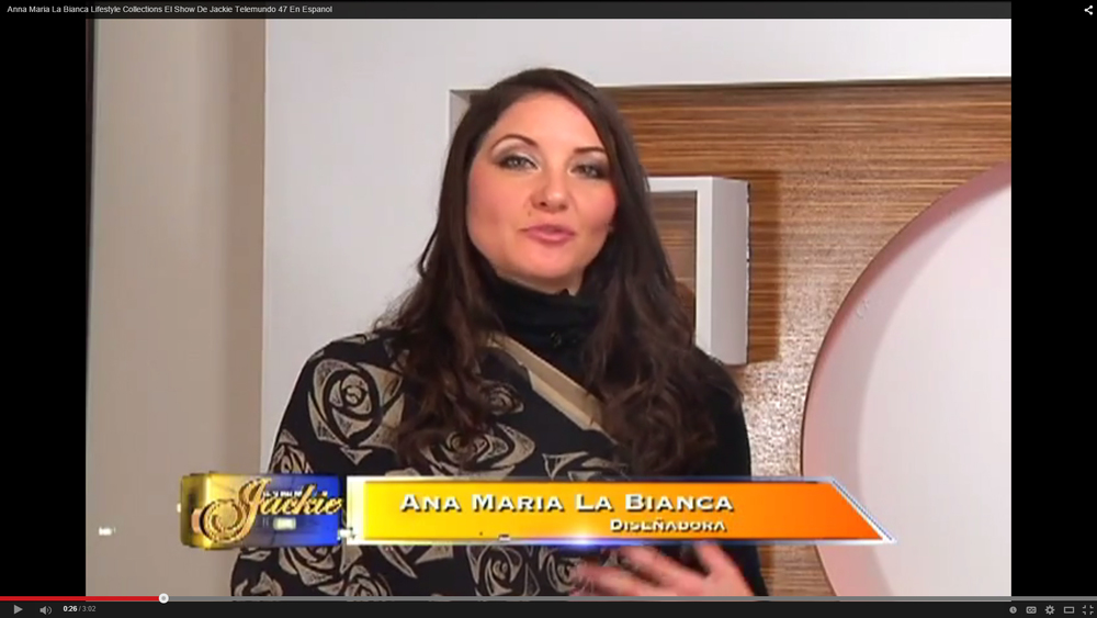 TV appearance, TELEMUNDO 47, El Show De Jackie (Spanish) New York