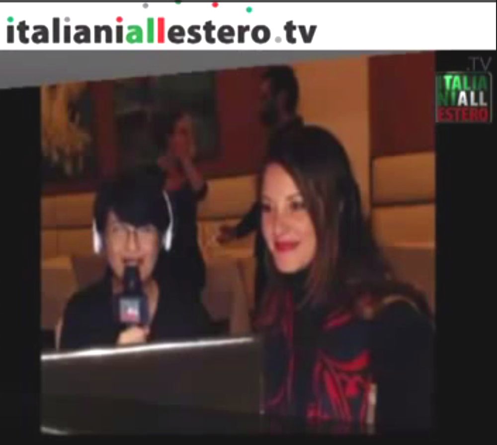 Web interview, Italiani All'Estero TV (Italian) Paris/New York