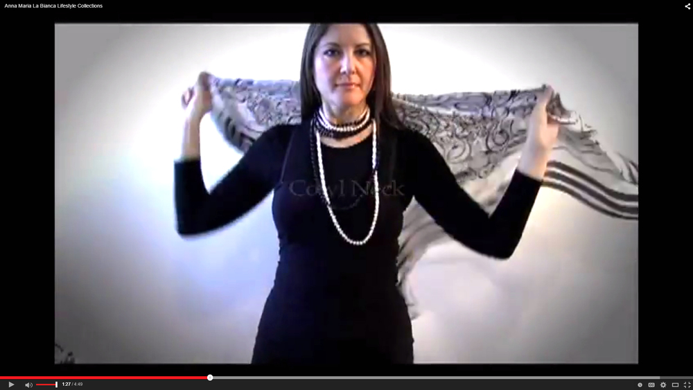 SIGNATURE Scarf (Oversize Square Scarf) tutorial video