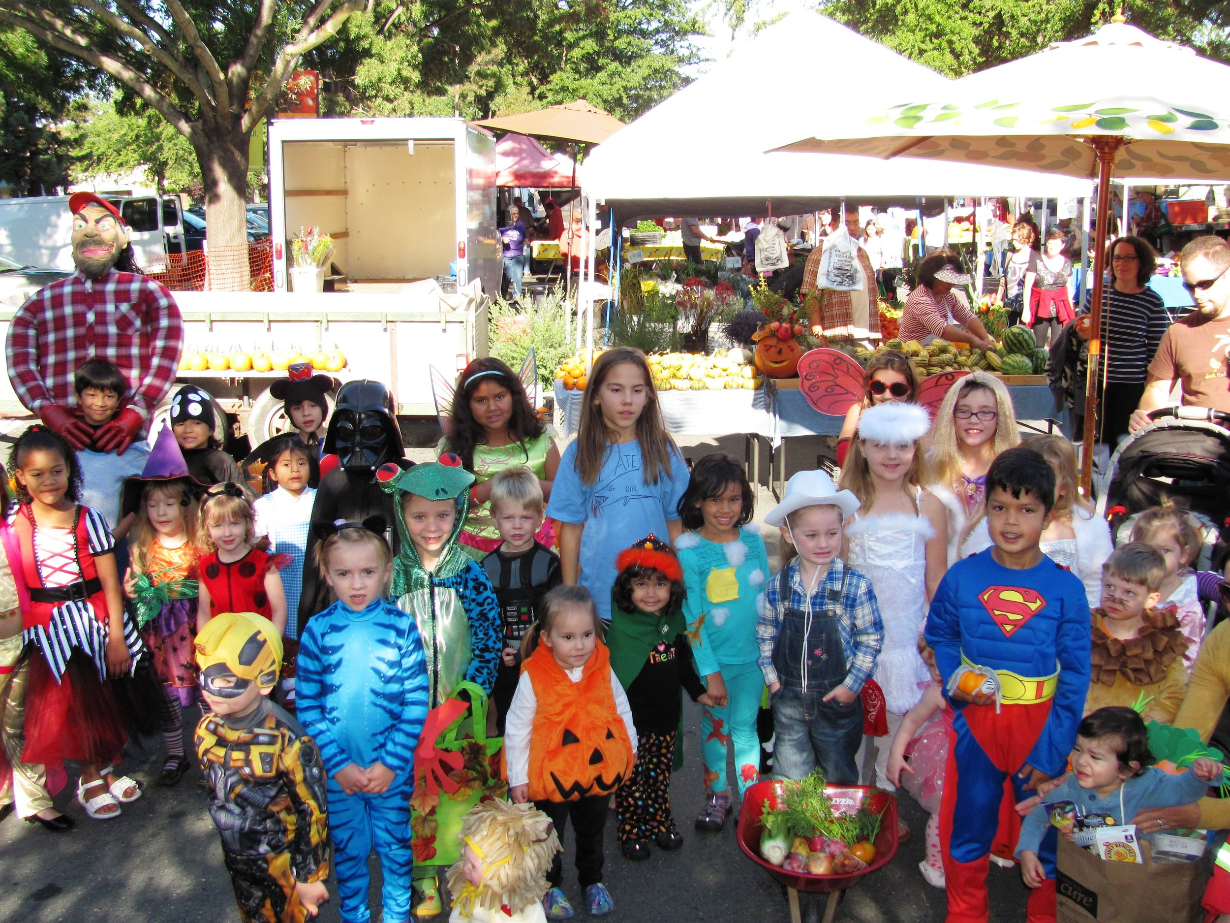 halloween harvest festival @ diablo valley farmers' market