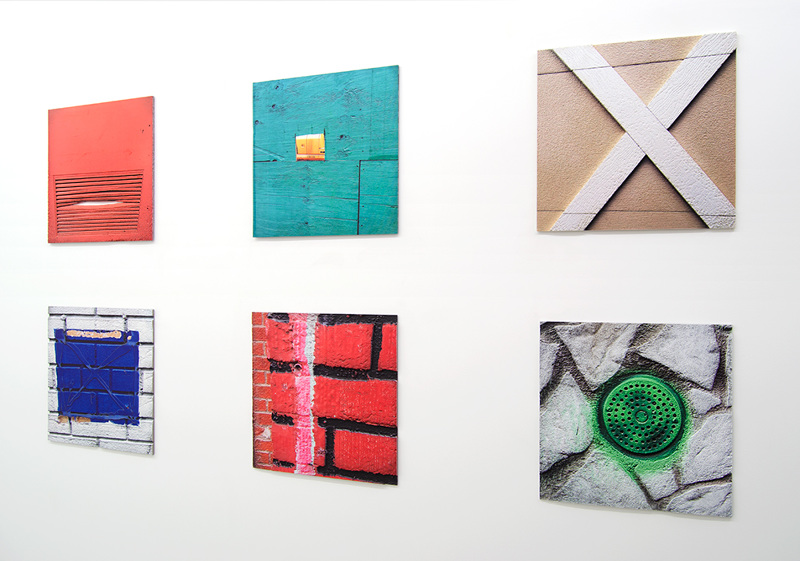 Works from Ethan Greenbaum's Flats exhibition