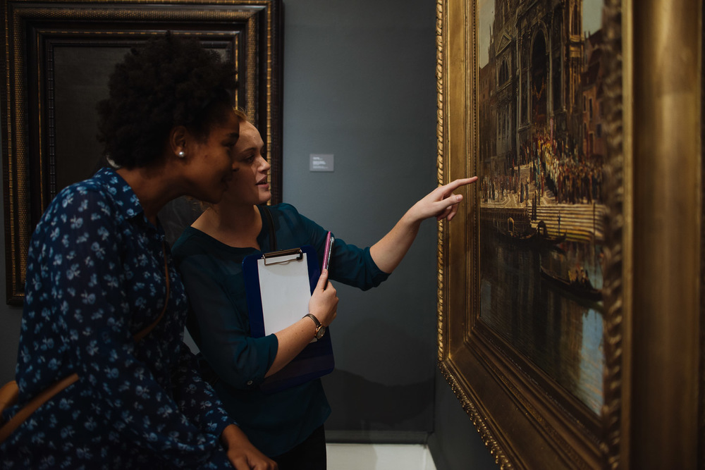 Attendees at the Iziko South African National Gallery on Museum Night Cape Town 2016