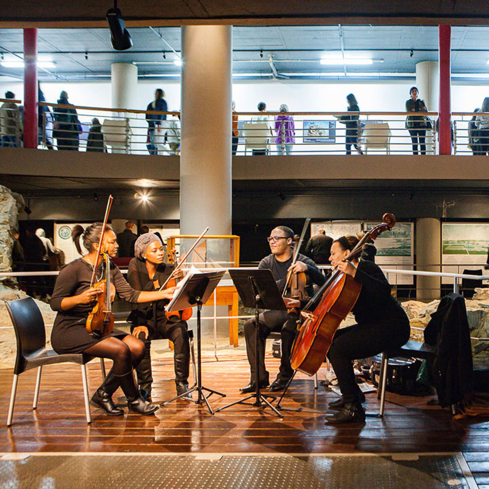Cape Philharmonic Youth Orchestra   Chavonnes Battery Museum   18:30 – 21:00
