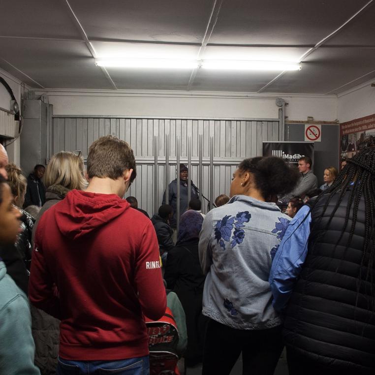 Talk by Vusumzi Mcongo  Robben Island Jetty 1 Museum   8.00PM – 9.00PM