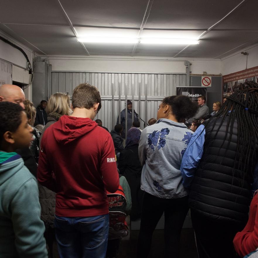 Talk by Vusumzi Mcongo  Robben Island Jetty 1 Museum  6.00PM – 7.00PM