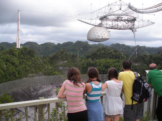 Arecibo Radio Telescope