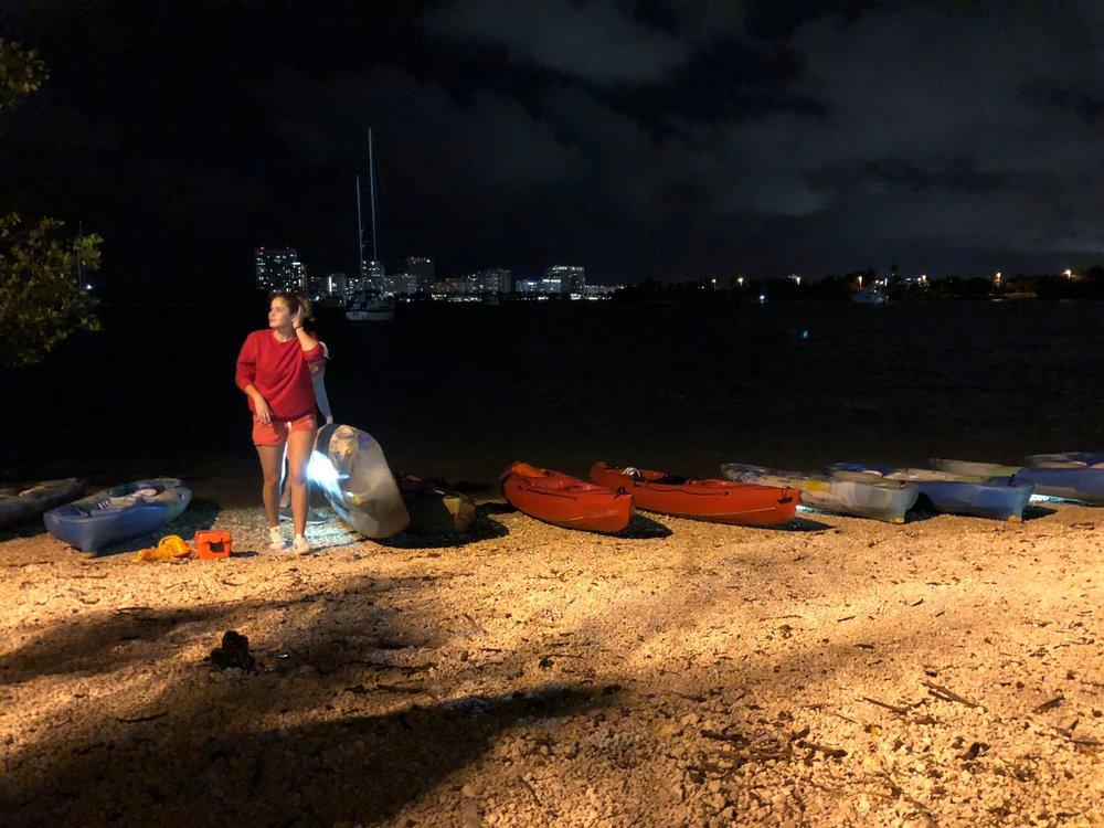 Night Time Kayak Adventure