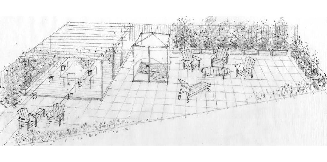 A Roof Garden Plan For Josh Harnett