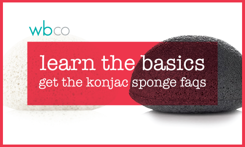 LEARN ABOUT KONJAC SPONGES >