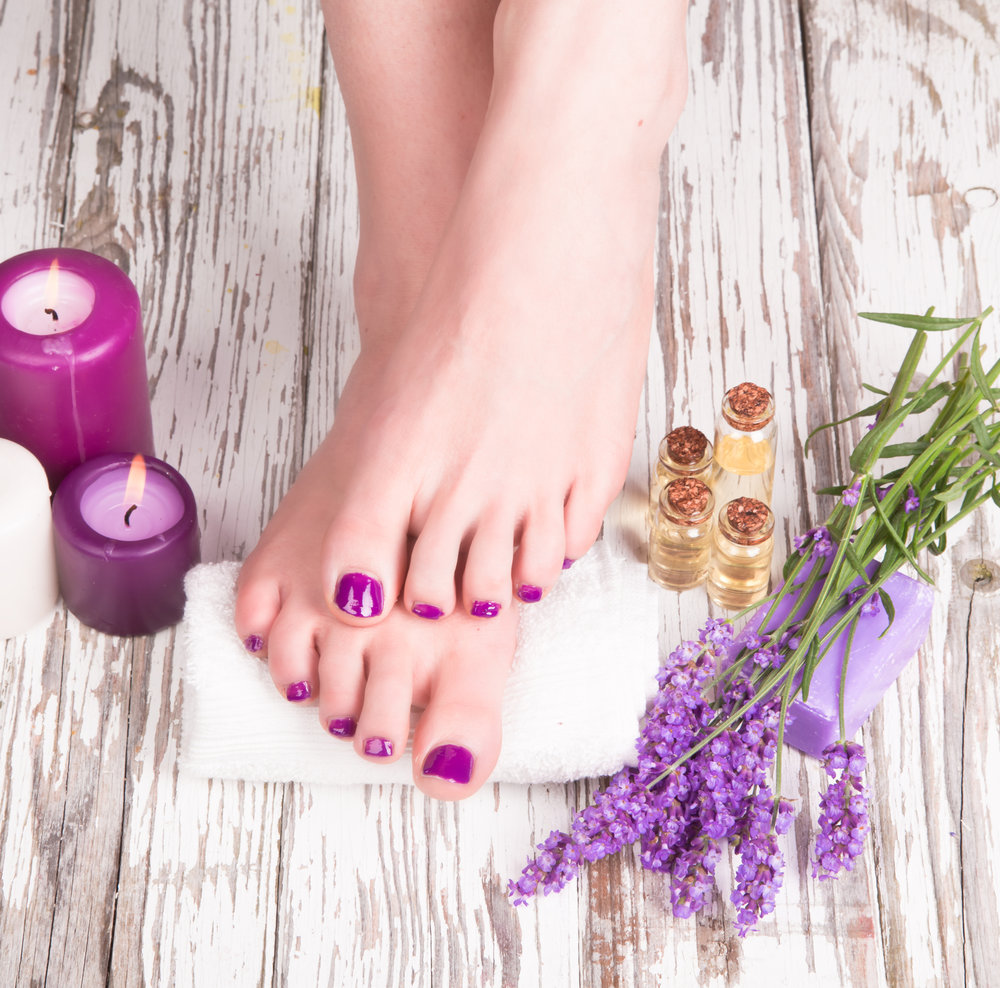 Manicure and Pedicure -