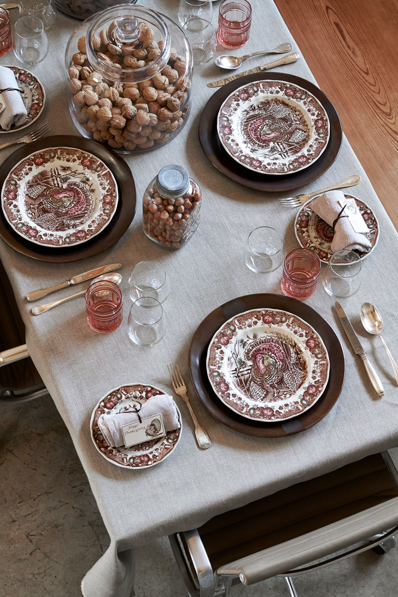 Don't forget to stop by the Market for last-minute table settings and accessories.