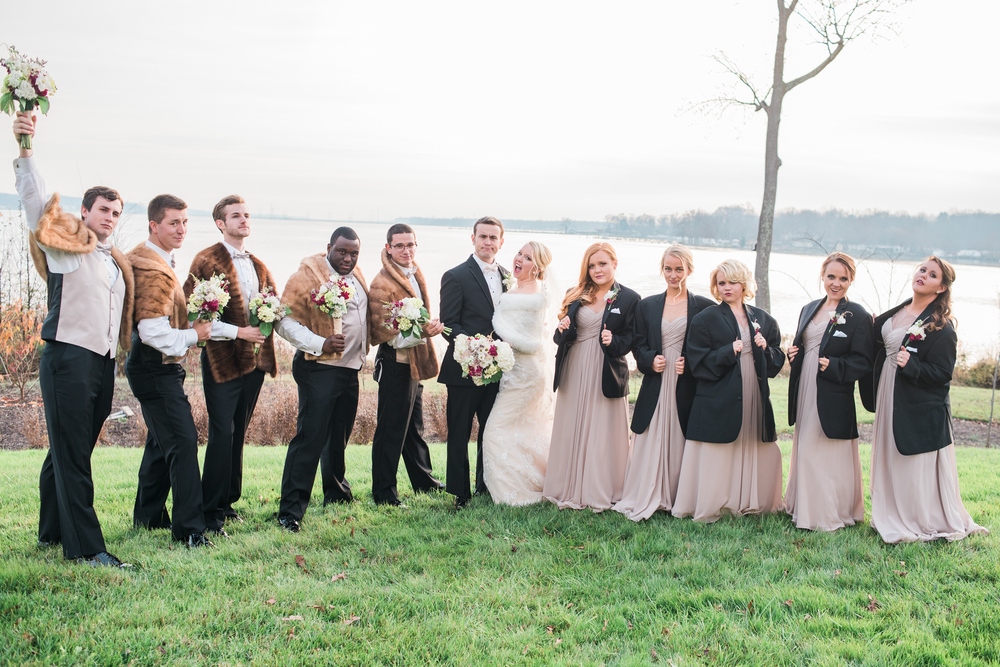 Goofy Bridal Party shots are so fun!