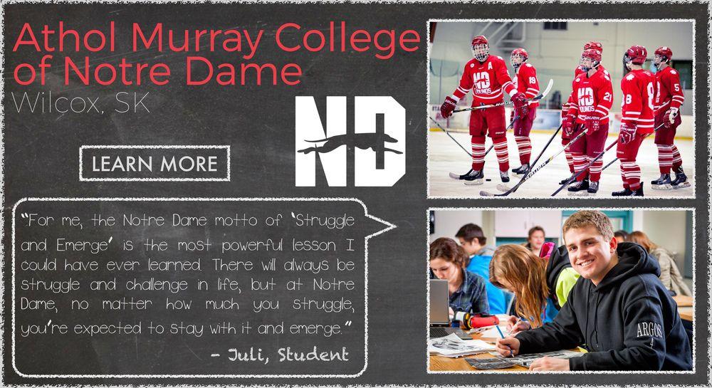 Athol Murray College of Notre Dame Boarding School Testimonial