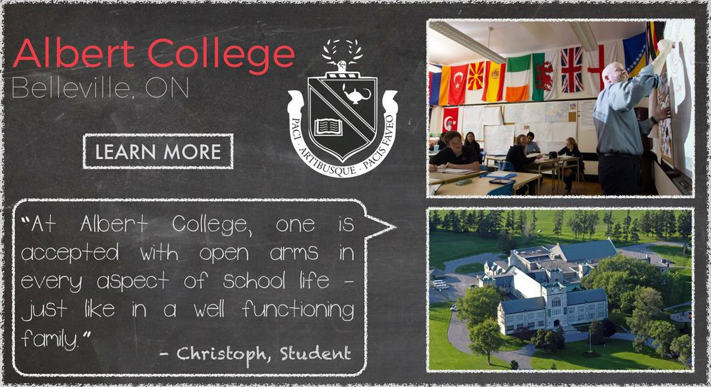 Albert College Boarding School Testimonial