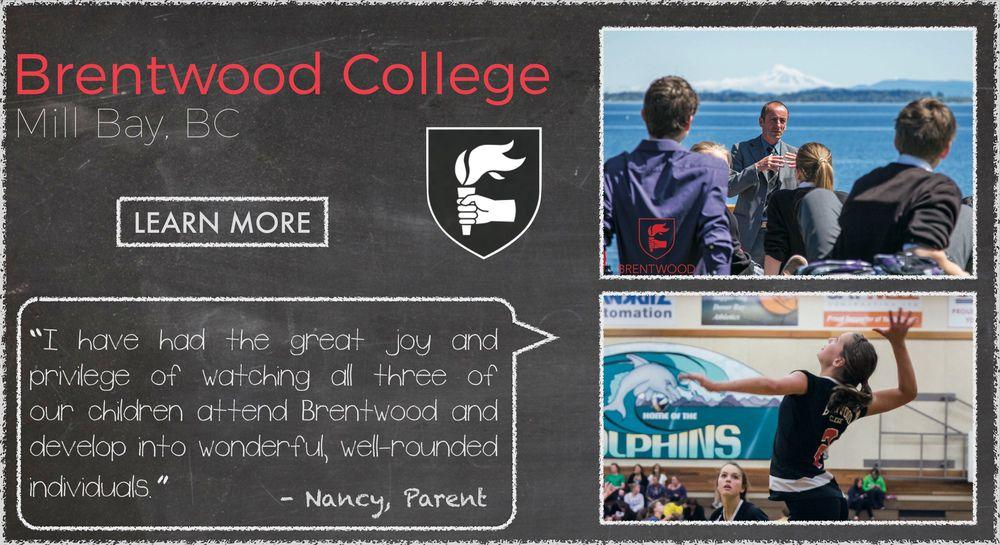 Brentwood College  Boarding School Testimonial