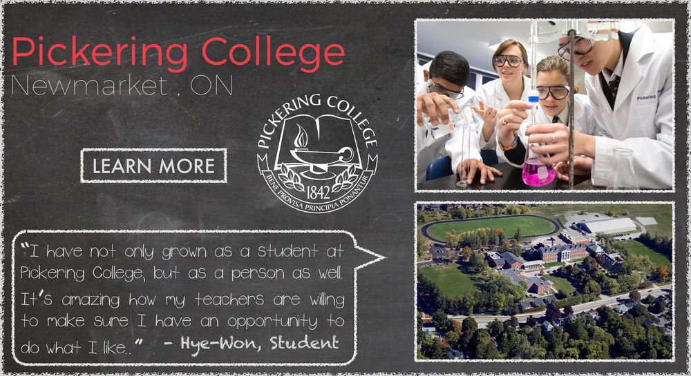 Pickering College Boarding School Testimonial