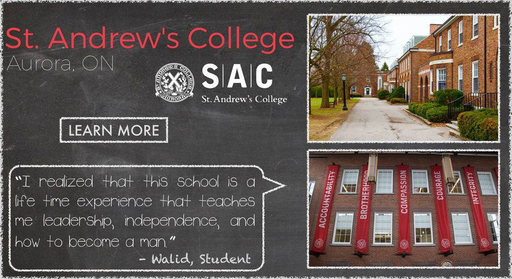 St. Andrew's College Boarding School Testimonial