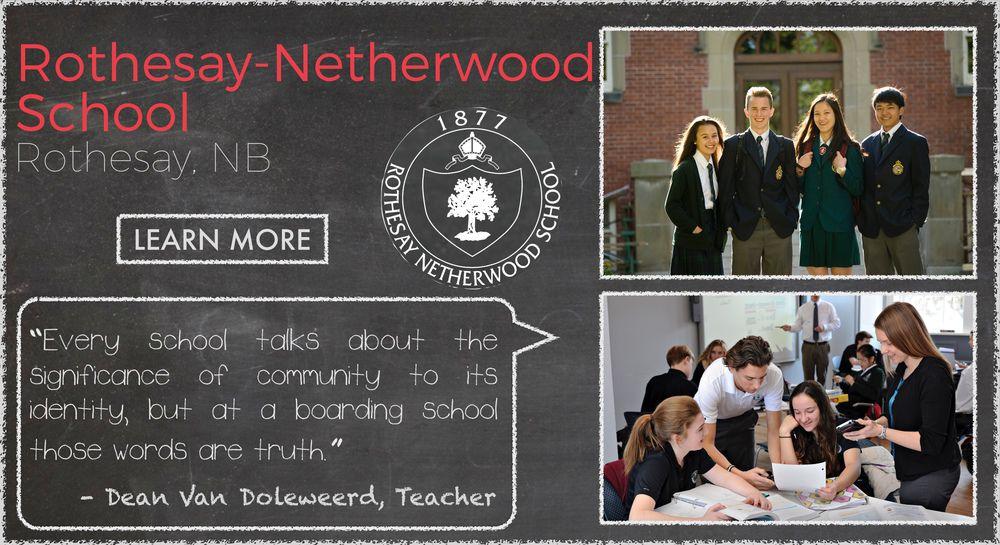 Rothesay Netherwood  Boarding School Testimonial