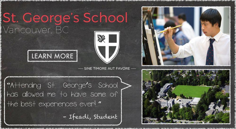St. George's School Boarding School Testimonial