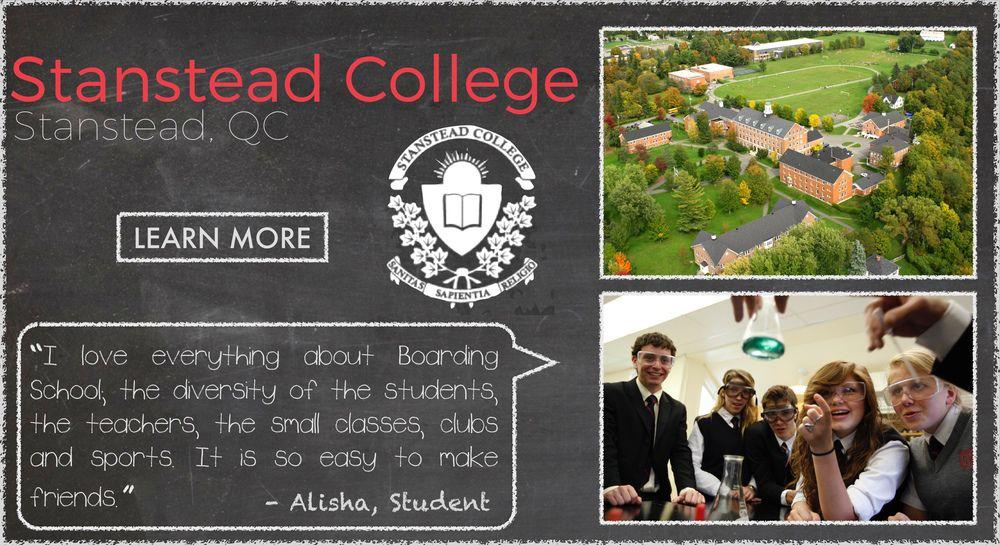 Stanstead College  Boarding School Testimonial
