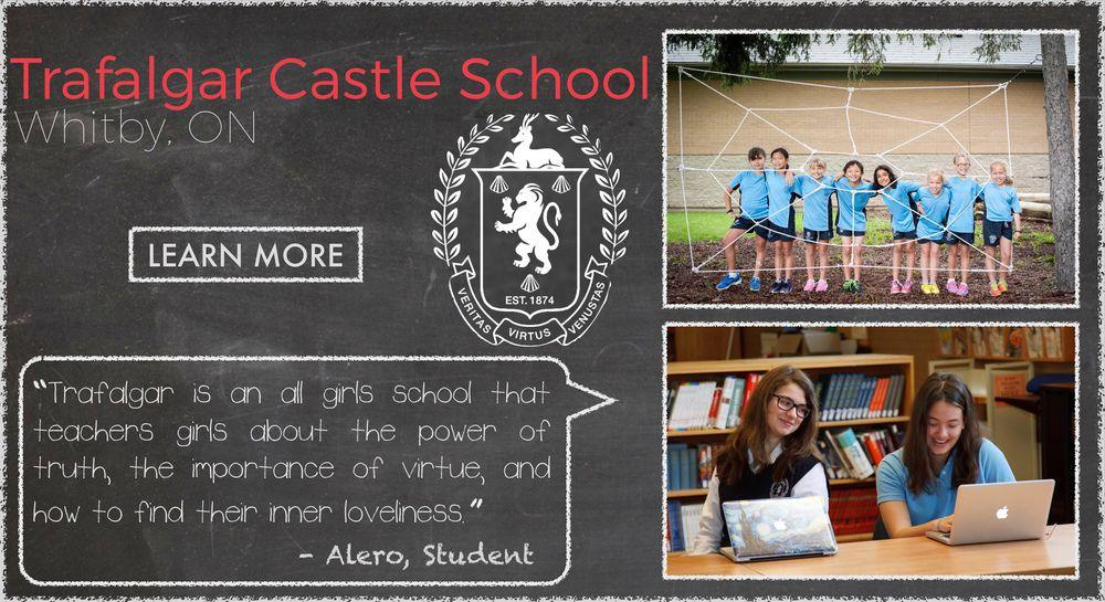 Trafalgar Castle School  Boarding School Testimonial
