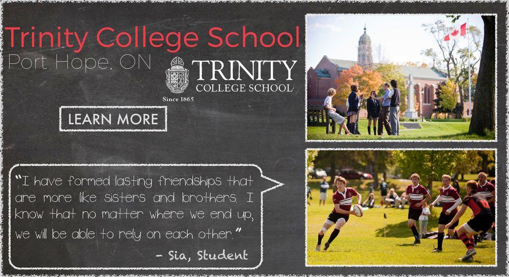 Trinity College School Boarding School Testimonial