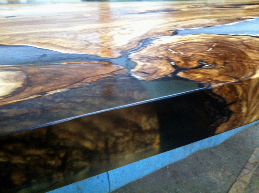 Wonderful Olive Wood Table