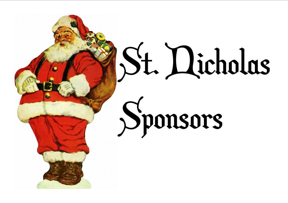 St. Nicholas Sponsors