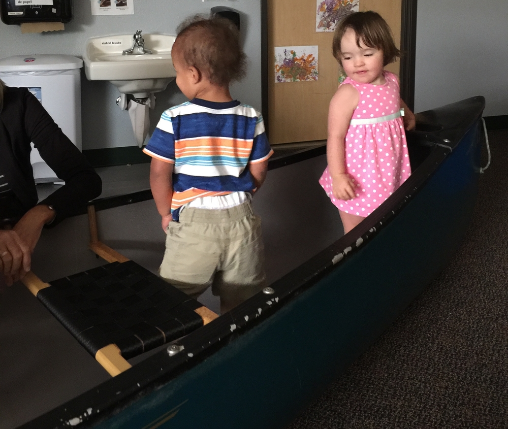 Our intrepid toddlers are sailing into new territory... a third classroom!
