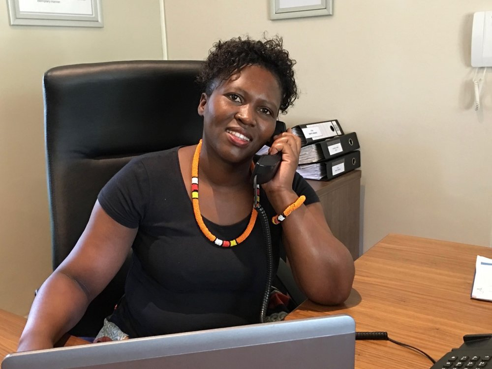 After joining Astrapak Head Office in 2014 as a general worker, Lungi Sibiya is now the receptionist and her warm smile and hospitality continues to shine through.