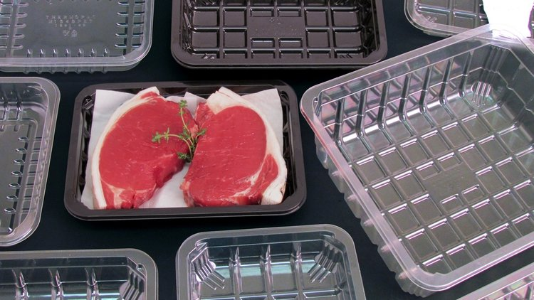 Barrier Meat Trays