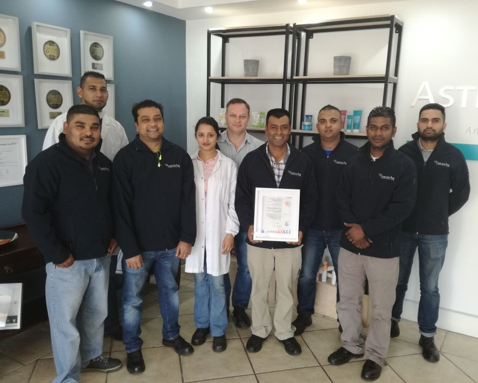 The surveillance audit recently conducted at RPC Astrapak Consupaq is part of maintaining the facility's food safety certification, FSSC 22000. The manufacturing site passed the audit with flying colours!