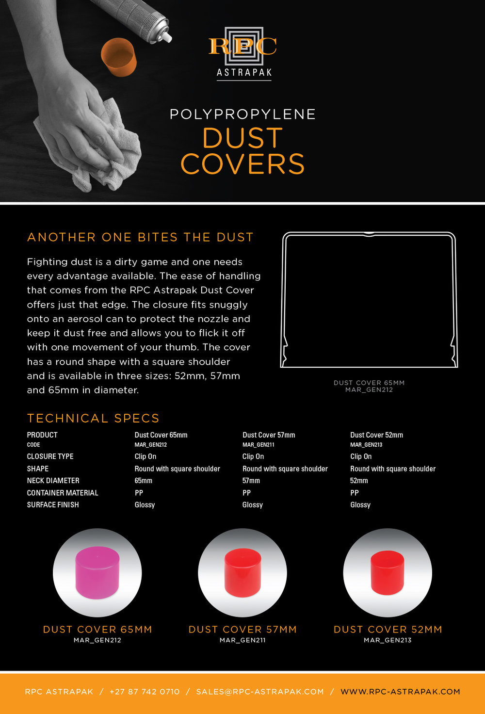RPC AstraPak Mailer Dust Covers FINAL (type).indd