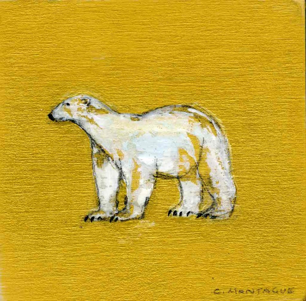 Sold. Tundra Bear - Golder Bear Series