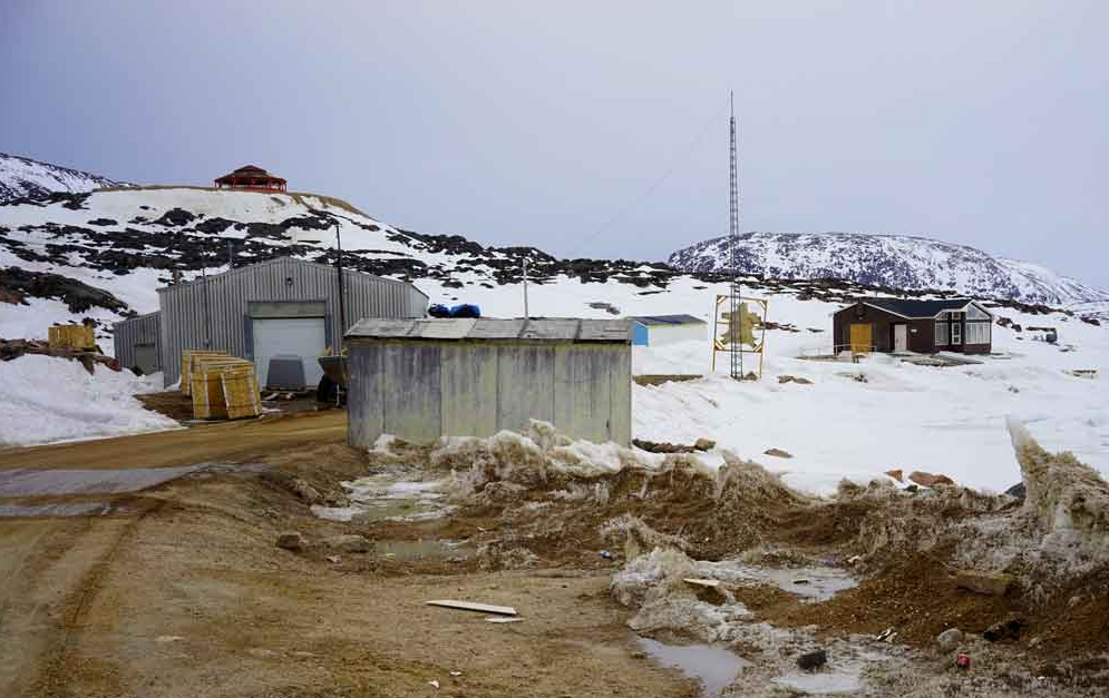 Wildlife Dept.building.  Cape Dorset. Photo:Christine Montague