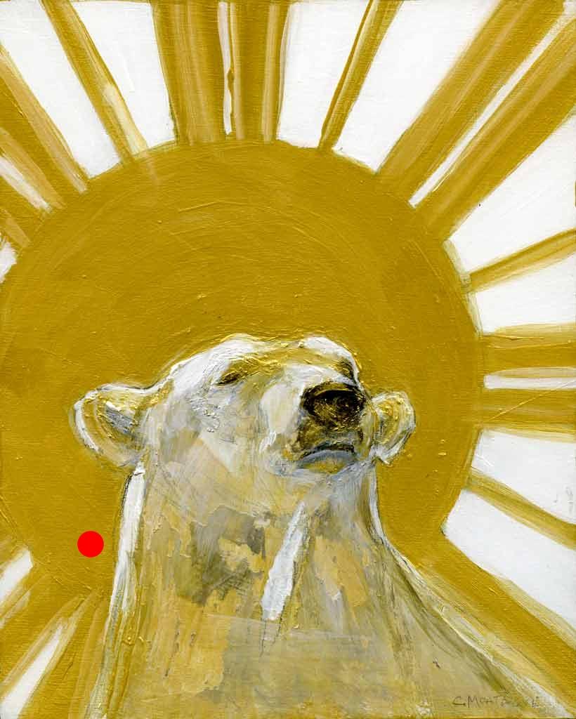 Sold. Polar Bear King. Golder Bear Series.