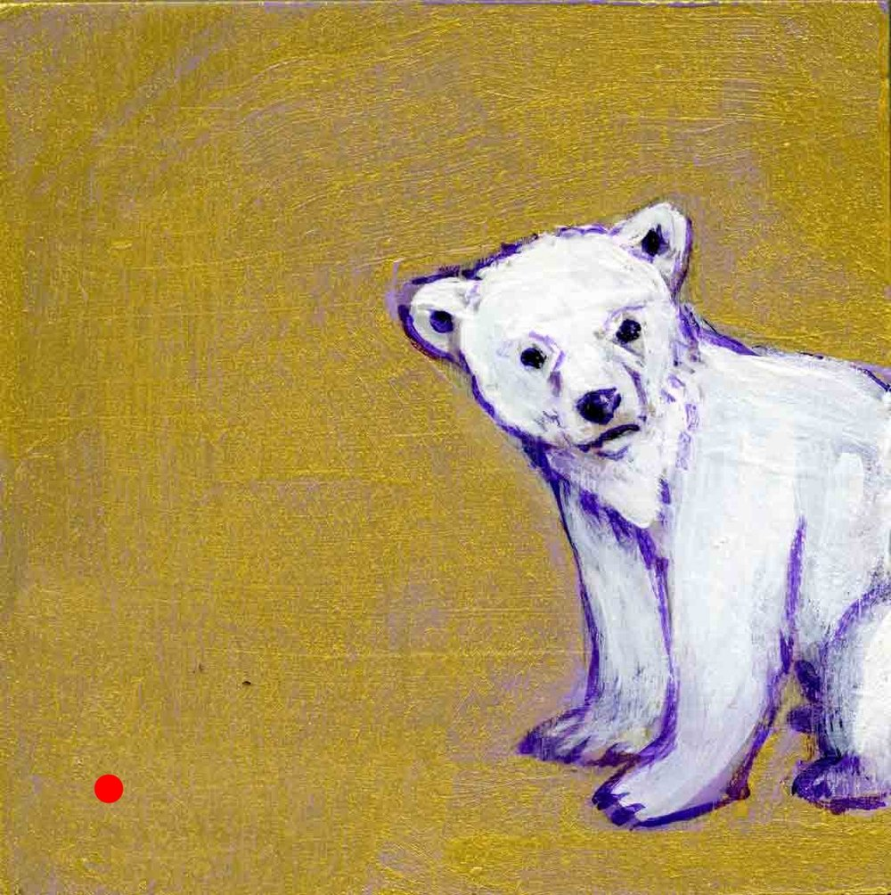 SOLD. Peak - A - Bear. Golder Bear Series