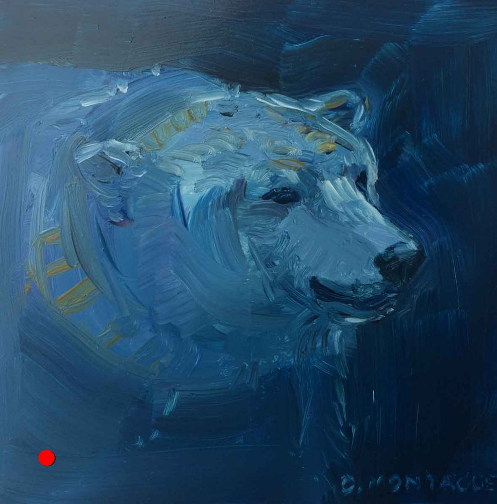 Sold. Blue Bear