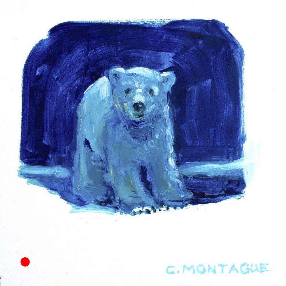 Sold. Polar Bear Cub No. 3