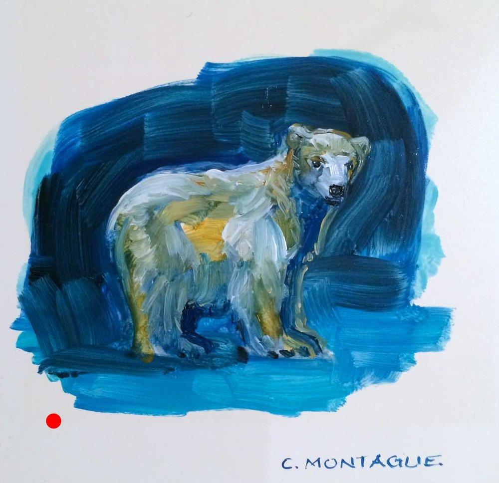 Polar Bear Cub Portrait Study 2
