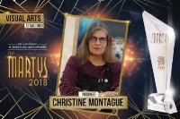 Christine Montague is pleased to announce she is one of the artists nominated for Mississauga  established visual artist of the yea r. Martys 2018, Mississauga Arts Council.