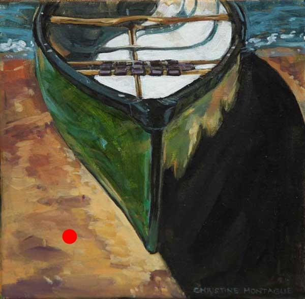 Green Canoe Sold.