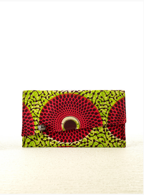 The Zoe Sierra Leone Clutch is one of many international goods found at TO THE MARKET's shop.