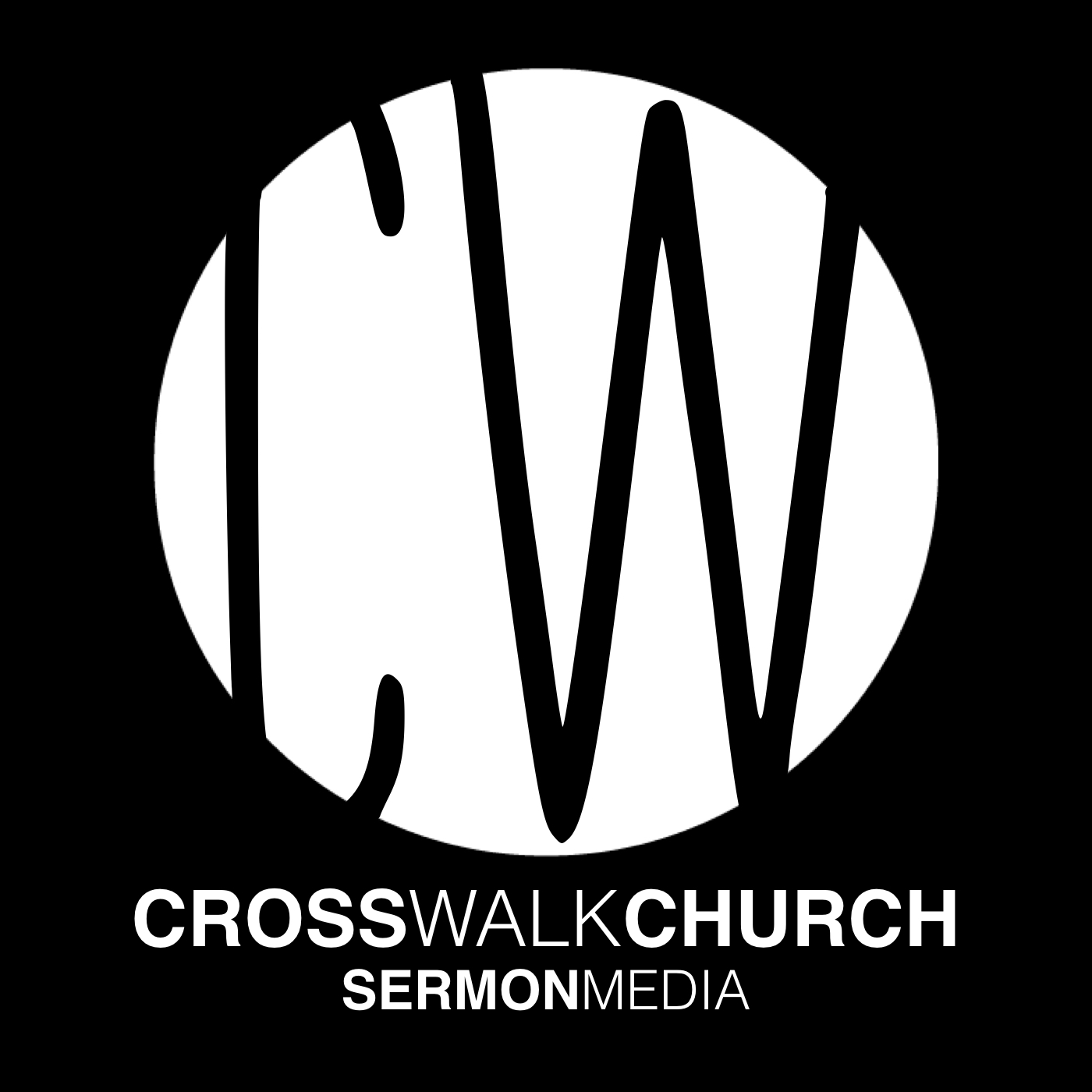 Sermon Audio - CROSSWALK Logo