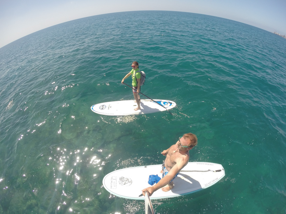 SUP tour Gran canaria part II